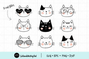 Funny Cat Graphic Illustrations By CatAndMe