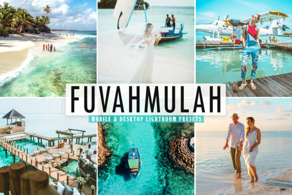Print on Demand: Fuvahmulah Pro Lightroom Presets Graphic Actions & Presets By Creative Tacos