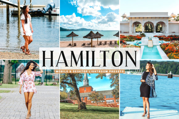 Print on Demand: Hamilton Pro Lightroom Presets Graphic Actions & Presets By Creative Tacos