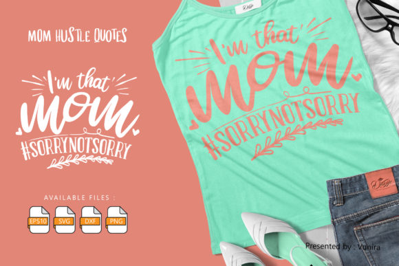 Print on Demand: I'm That Mom Graphic Crafts By Vunira