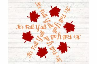 It's Fall Y'All Graphic Objects By Digital Honey Bee
