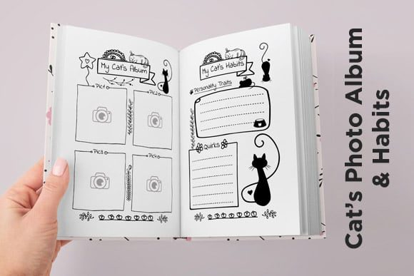 Print on Demand: KDP Cat Health Tracker Log Journal 2021 Graphic KDP Interiors By Queen Dreams Store - Image 5