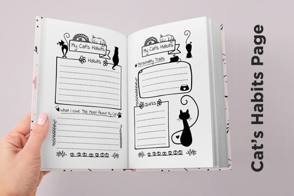 Print on Demand: KDP Cat Health Tracker Log Journal 2021 Graphic KDP Interiors By Queen Dreams Store - Image 6