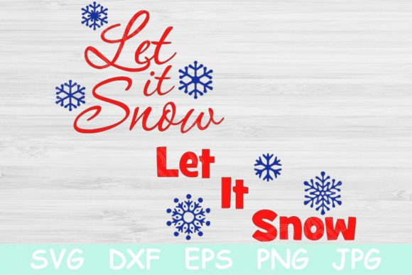 Silhouette Let It Snow Svg Download Free And Premium Svg Cut Files