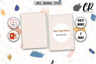 Lined Journal Cover - KDP Graphic KDP Interiors By Creative Ram