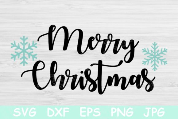 merry christmas svg file with snowflake graphic by tiffscraftycreations creative fabrica merry christmas svg file with snowflake