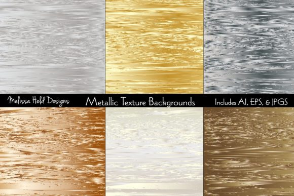Metallic Texture Backgrounds Graphic Textures By Melissa Held Designs