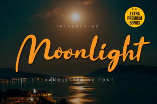 Print on Demand: Moonlight Manuscrita Fuente Por twinletter