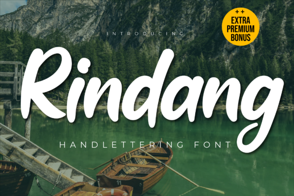 Print on Demand: Rindang Display Font By twinletter