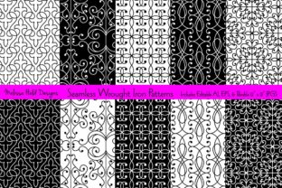 Seamless Wrought Iron Patterns Graphic Patterns By Melissa Held Designs
