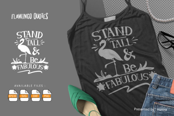 Print on Demand: Stand Tall and Be Fabulous Gráfico Crafts Por Vunira