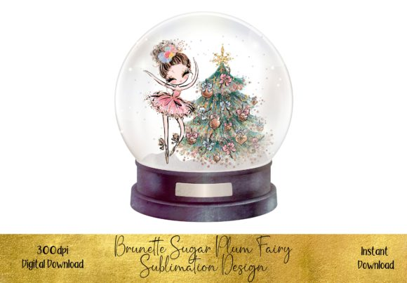 Sugar Plum Fairy Illustration Graphic Illustrations By STBB