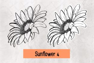 Print on Demand: Sunflower 4 Graphic Crafts By 18CC
