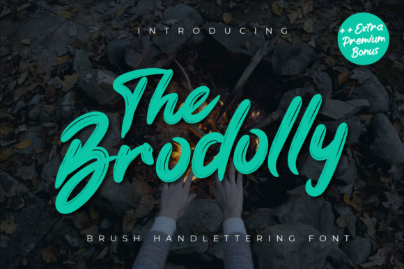 Print on Demand: The Brodolly Display Fuente Por Productype
