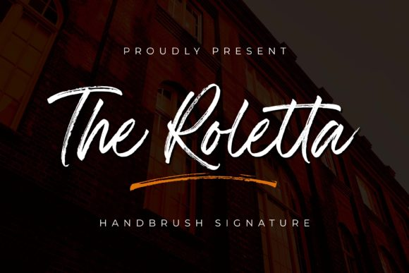 Print on Demand: The Rolleta Script & Handwritten Font By almarkhatype