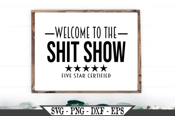 Welcome to the Shit Show Funny Graphic Crafts By Crafters Market Co