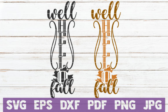 Well Hello Fall Graphic Crafts By MintyMarshmallows