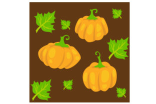 Seamless Pumpkin Background Fall Craft Cut File By Creative Fabrica Crafts