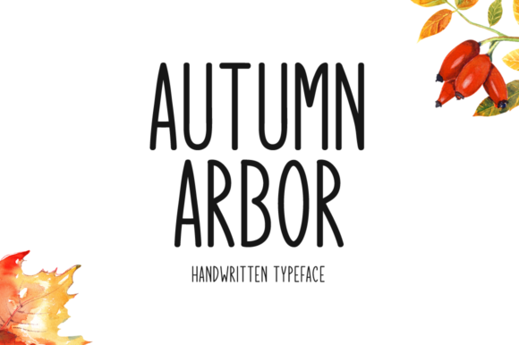 Print on Demand: Autumn Arbor Script & Handwritten Font By Seemly Fonts