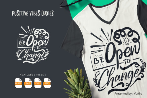 Be Open to Change Graphic