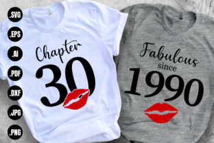 Print on Demand: Chapter 30, Fabulous Since 1990 Graphic Print Templates By CraftsCreateShop