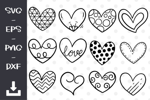 Swirly Cute Heart Svg Download Free And Premium Svg Cut Files