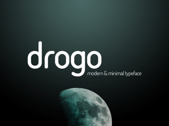 Print on Demand: Drogo Sans Serif Font By Design Stag
