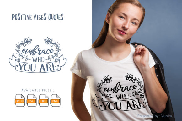 Print on Demand: Embrace Who You Are Graphic Crafts By Vunira