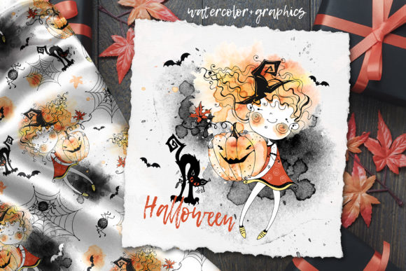 Happy Halloween Graphic Illustrations By grigaola