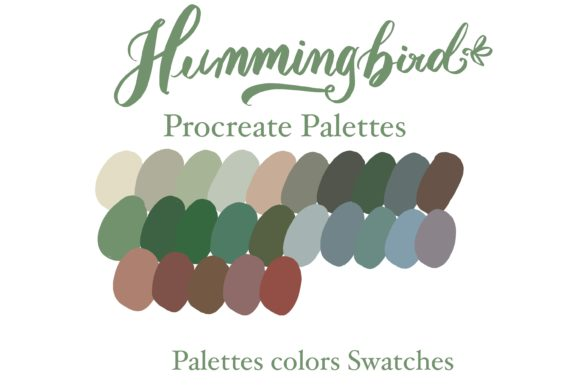 Hummingbird Procreate Instant Download Graphic Add-ons By Poycl Jazz