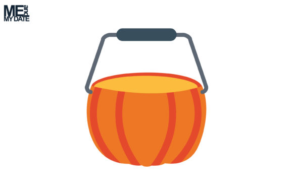 Print on Demand: Icon Halloween Pumpkin Bucket Graphic Icons By meandmydate