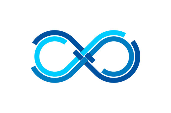 Infinity Logo Graphic Logos By SkyAce Graphic