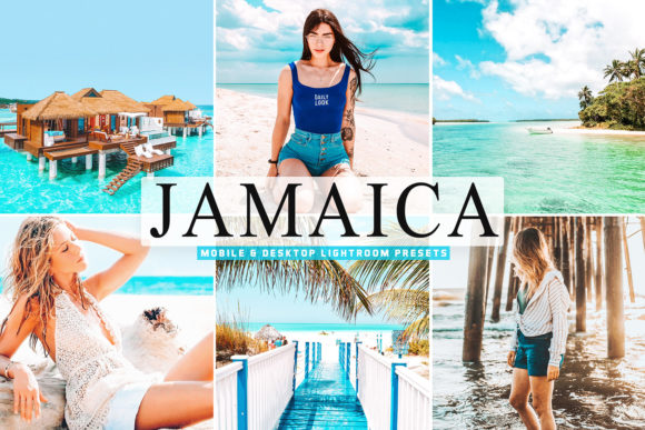 Print on Demand: Jamaica Pro Lightroom Presets Graphic Actions & Presets By Creative Tacos