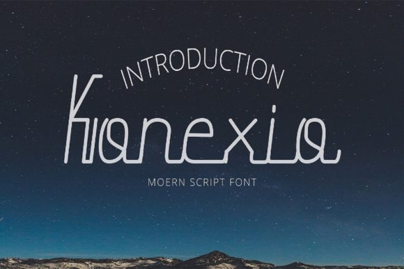 Print on Demand: Konexio Manuscrita Fuente Por Mytype Studio