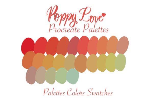 PoppyLove Procreate Instant Download Graphic Add-ons By Poycl Jazz