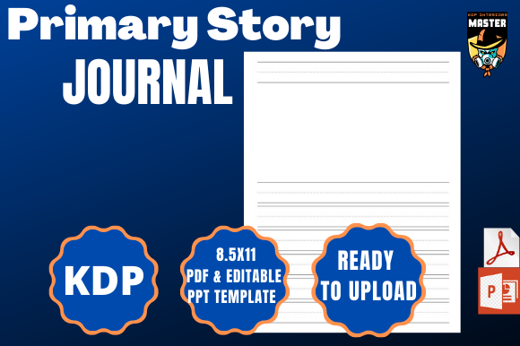Print on Demand: Primary Story Journal (KDP Interior) Graphic KDP Interiors By KDP_Interiors_Master
