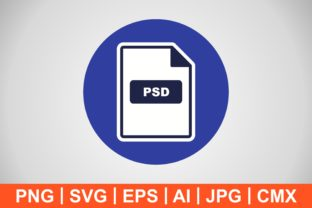 Print on Demand: Vector PSD Icon Graphic Icons By IYIKON