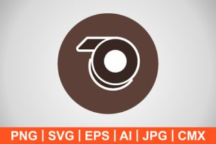Print on Demand: Vector Tape Icon Graphic Icons By IYIKON