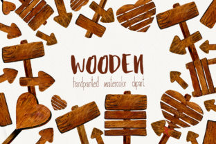 Wooden Pointer Watercolor Set - 1