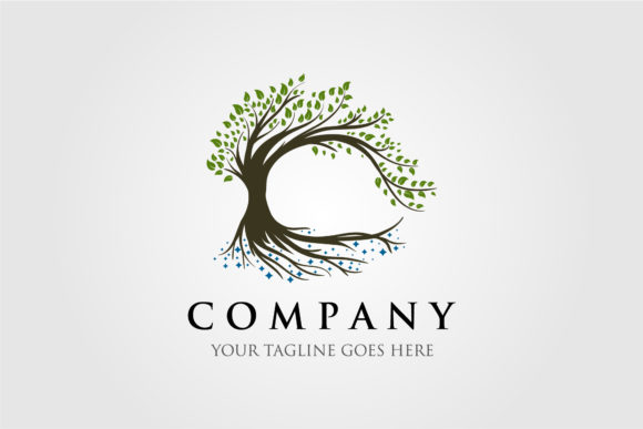 Tree Logo Illustration Vector Design Graphic Logos By lawoel