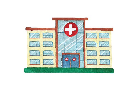Large Hospital Medical Craft Cut File By Creative Fabrica Crafts