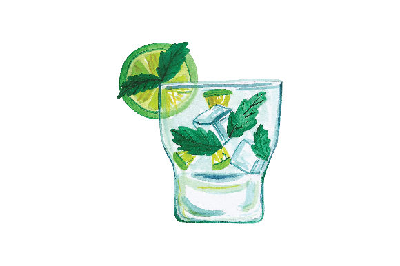 Mojito Food & Drinks Craft Cut File By Creative Fabrica Crafts
