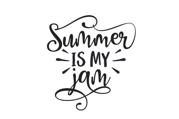 Summer is My Jam Summer Craft Cut File By Creative Fabrica Crafts