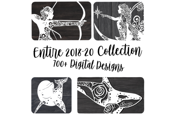 2018-20 Collection Bundle Graphic Illustrations By FortunaSVG