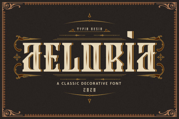 Print on Demand: Aeloria Display Font By Typia Nesia