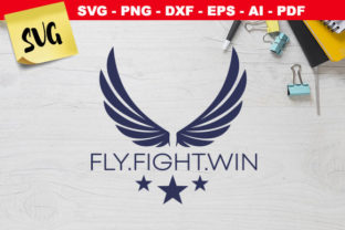Print on Demand: Air Force Fly Fight Win   Graphic Crafts By Novart