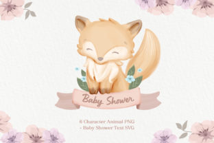 Animal with Ribbon Graphic Illustrations By alolieli