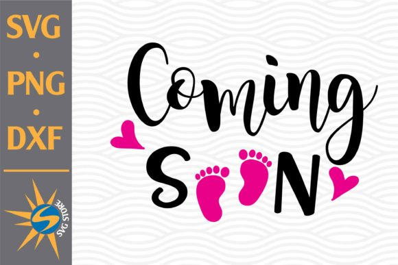 Print on Demand: Coming Soon Graphic Crafts By SVGStoreShop