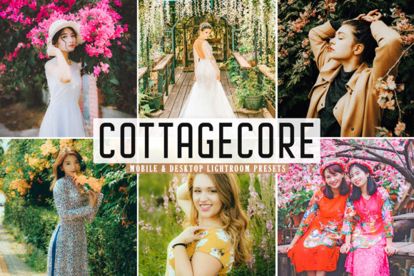 Print on Demand: Cottagecore Pro Lightroom Presets Graphic Actions & Presets By Creative Tacos