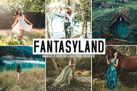 Print on Demand: Fantasyland Pro Lightroom Presets Graphic Actions & Presets By Creative Tacos